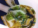 Photo of Salvatore Ferragamo scarf.